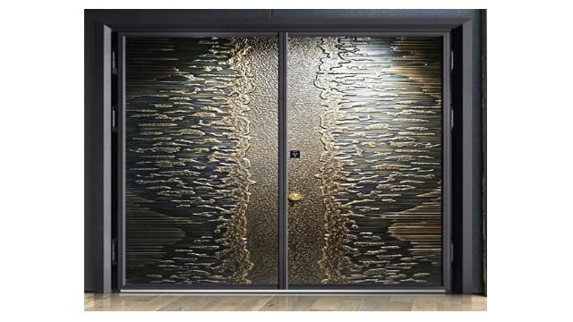 这样的别墅铸铝进户门,你喜欢吗?