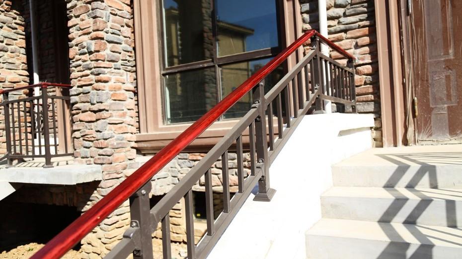 固格澜栅锌钢楼梯扶手 室内楼梯扶手 室外楼梯扶手