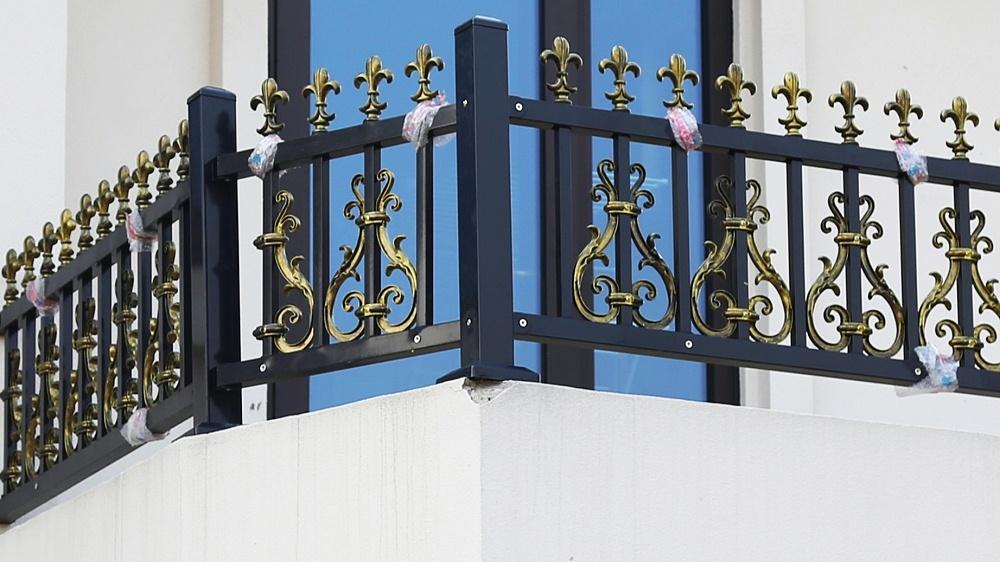 固格澜栅锌钢围墙护栏 庭院别墅围墙护栏