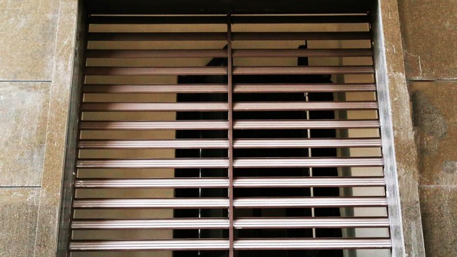 固格澜栅锌钢护栏百叶窗 阳台护栏百叶窗