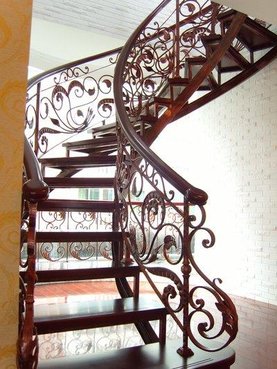 铁艺楼梯扶手展示图