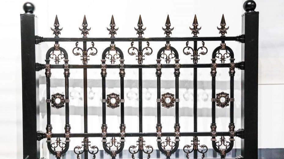 固格澜栅铝艺护栏批发 小区铝艺围栏 铝艺护栏