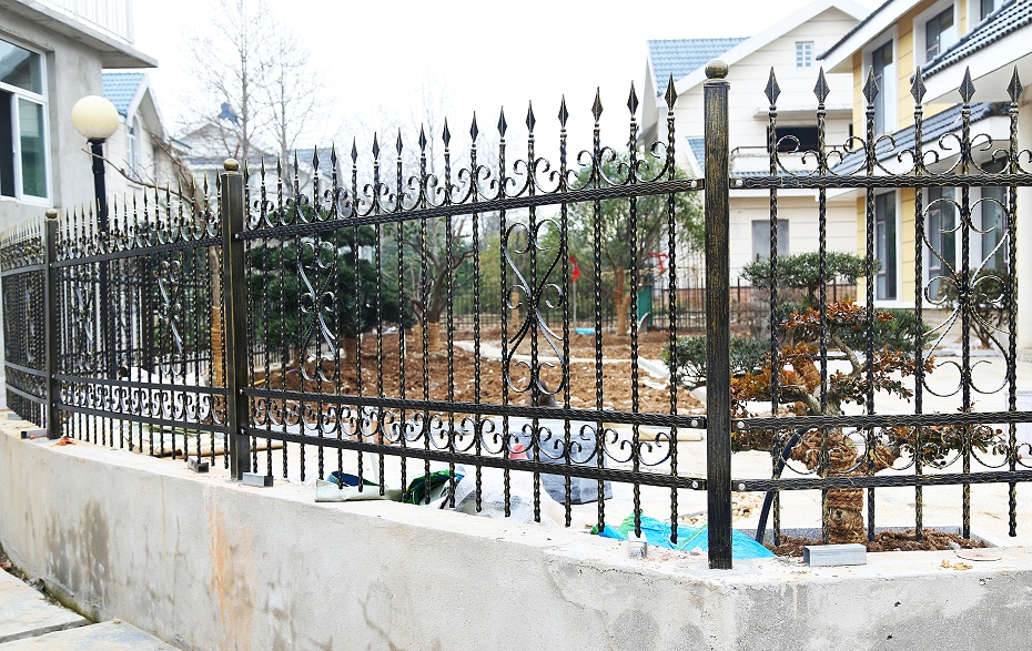 铁艺围墙护栏-001