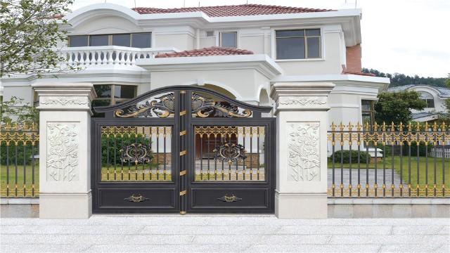 选择别墅铝艺围墙大门的理由,你懂了吗?