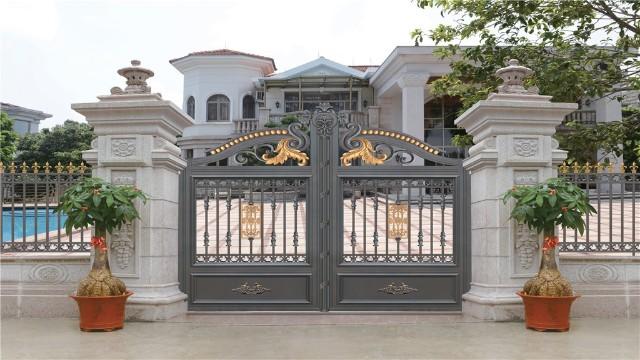 铝艺庭院大门的加工工艺