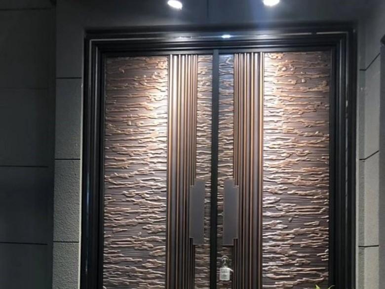 庭院别墅铸铝进户防爆门