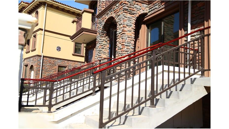 锌钢楼梯扶手-001