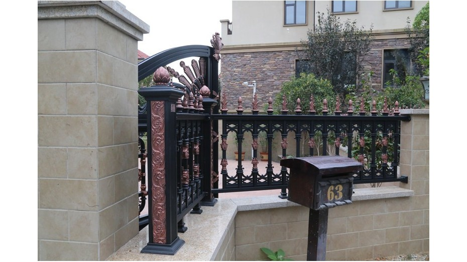 铝艺围墙护栏-004