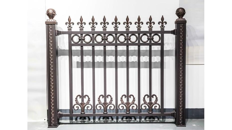 铝艺围墙护栏-008