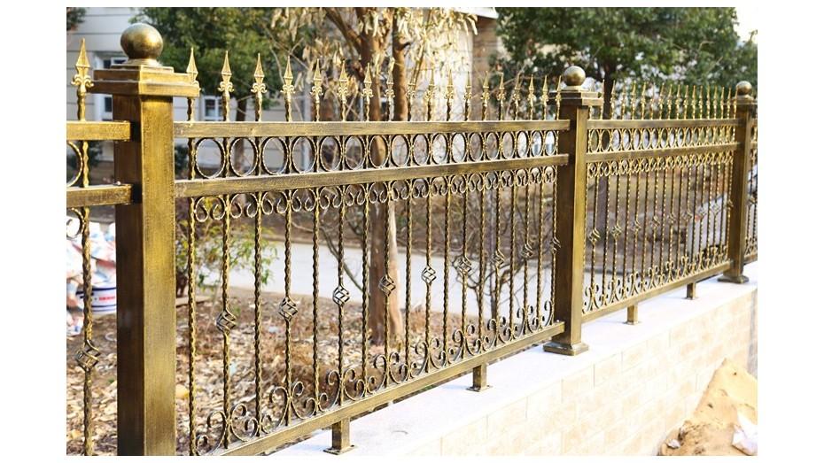 铁艺围墙护栏-003