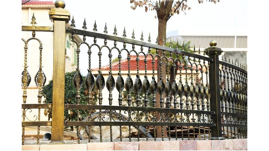 铁艺围墙护栏-004