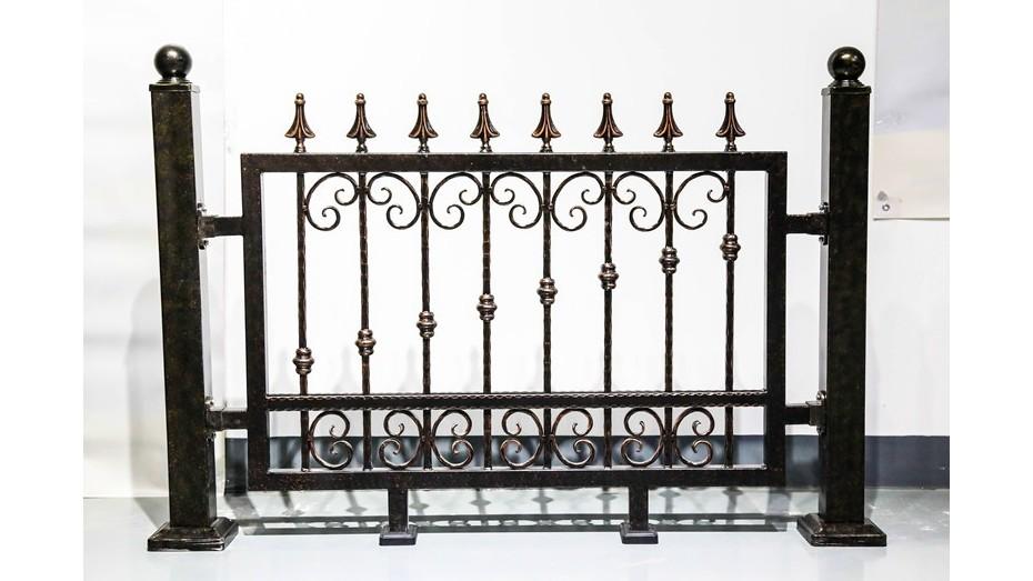 铁艺围墙护栏-009
