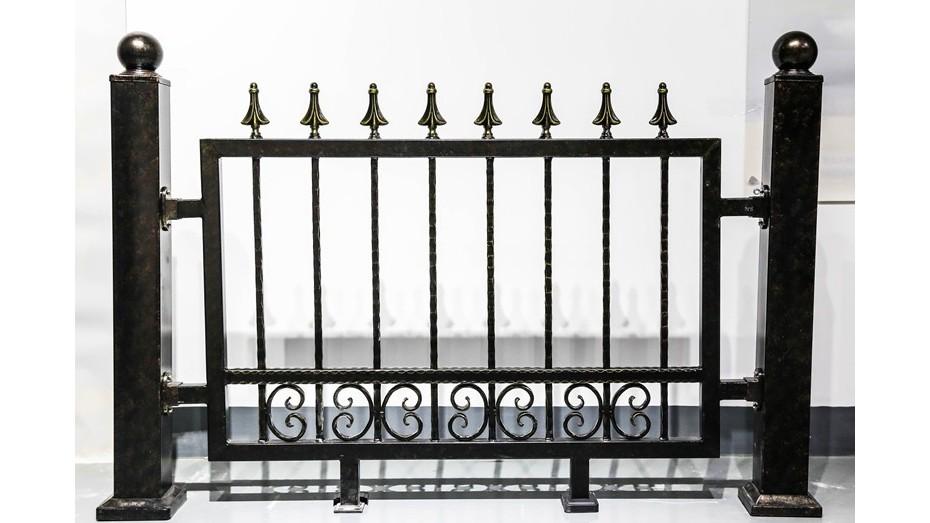 铁艺围墙护栏-010