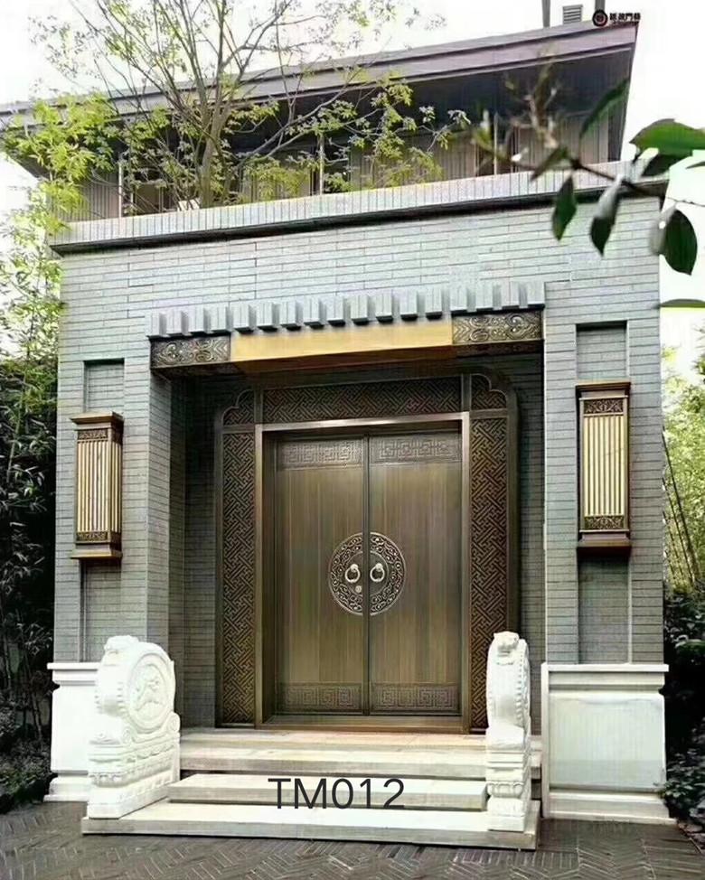 庭院进户别墅铜门