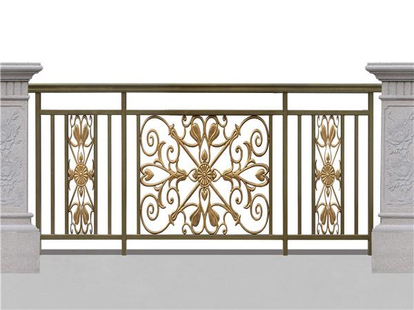 铝艺住宅阳台护栏