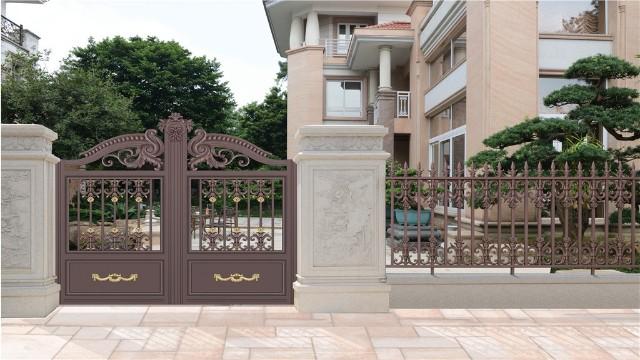 别墅铝艺围墙大门厂家教您如何挑选合适的大门