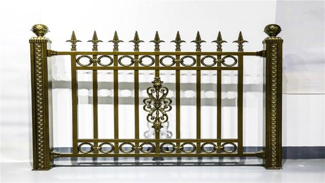 优质的铝艺围墙护栏的处理