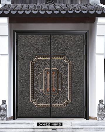 别墅进户铸铝门