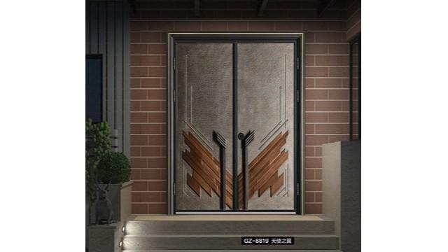 怎样通过五金配件来看别墅铸铝入户门的质量