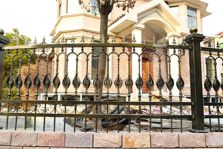 铁艺围墙护栏-004-4_副本