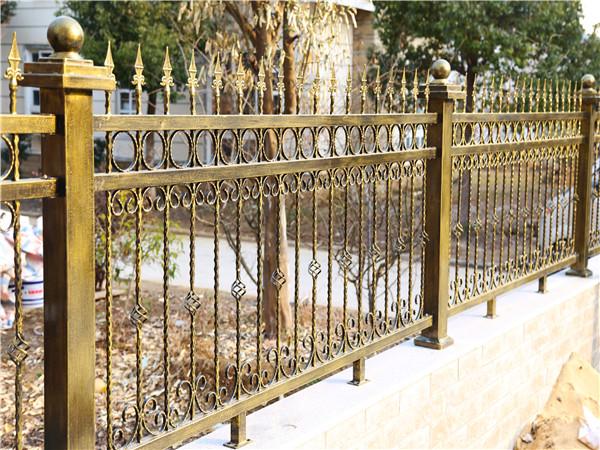 铁艺围墙防护栏杆-6