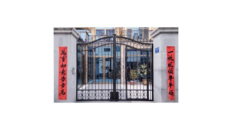 铁艺围墙大门-020