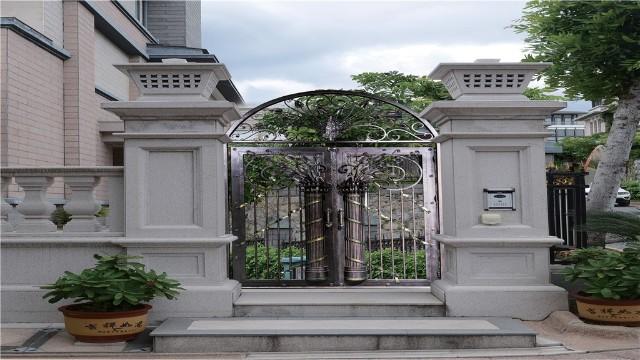 铁艺大门定制成为绿色家装追捧的新浪潮!