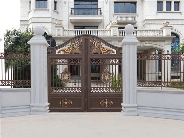铝艺别墅庭院大门