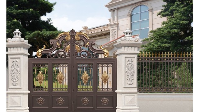 别墅围墙庭院大门在选择上要考虑哪些?
