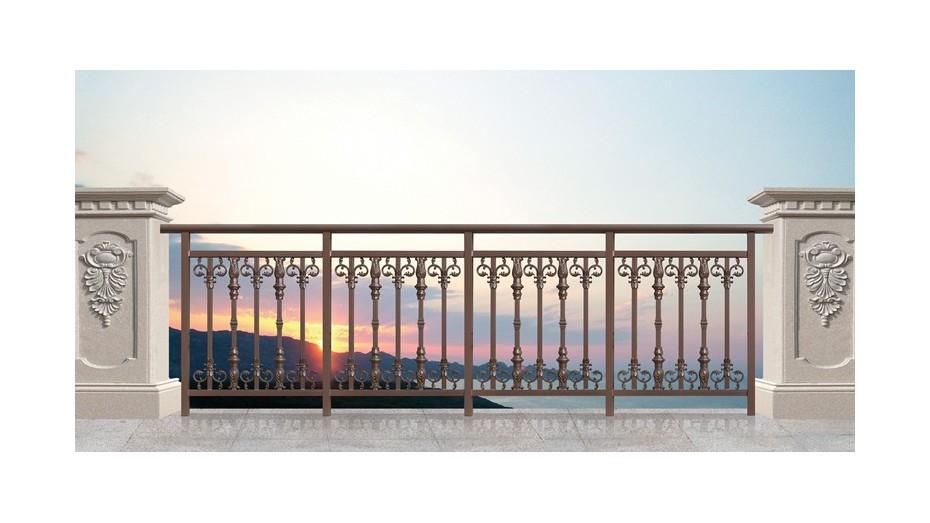 铝艺阳台护栏-019