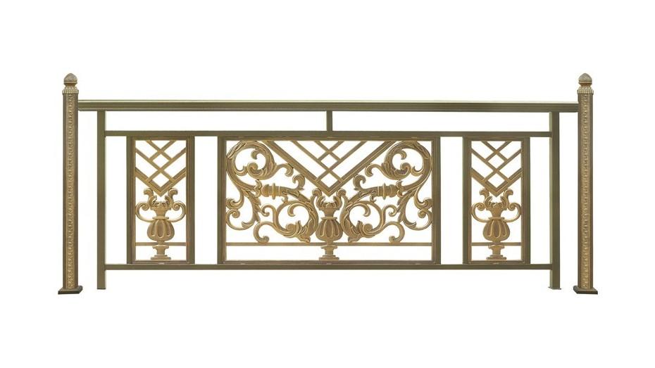 铝艺阳台护栏-017