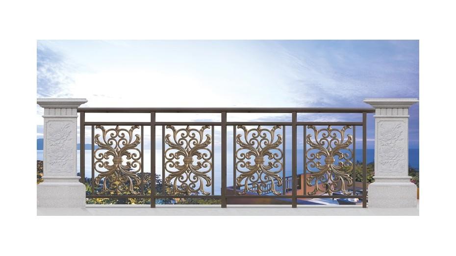铝艺阳台护栏-018