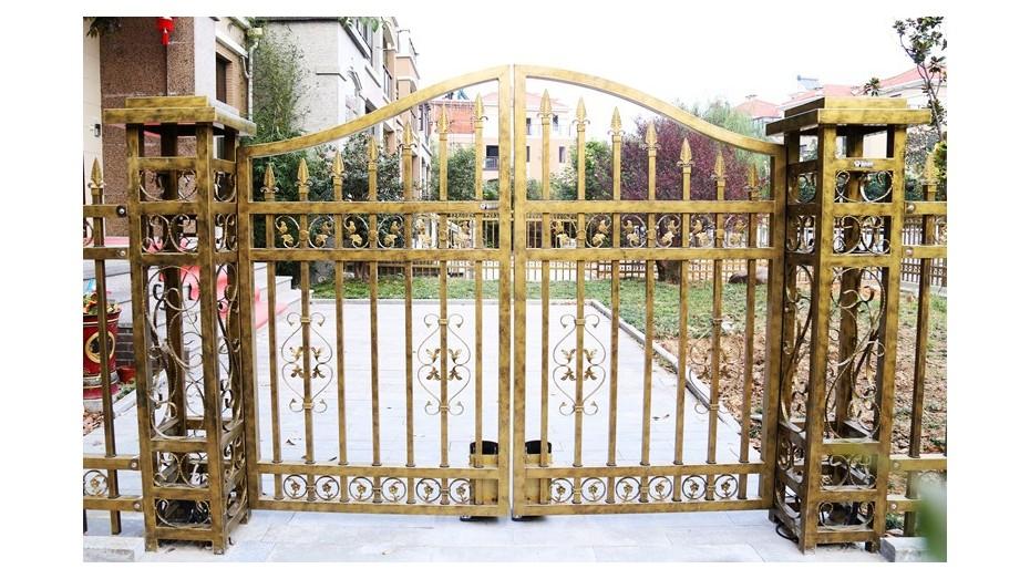 锌钢庭院大门-004