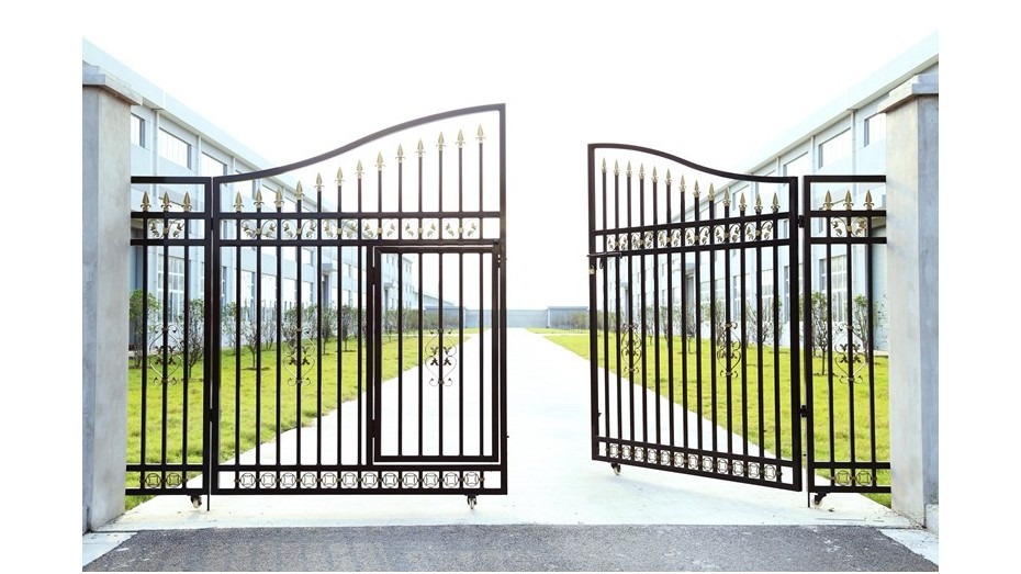 锌钢庭院大门-003