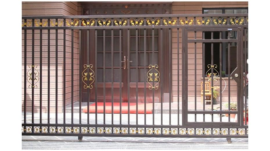 锌钢庭院大门-006