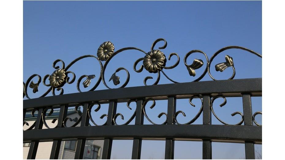 锌钢庭院大门-007