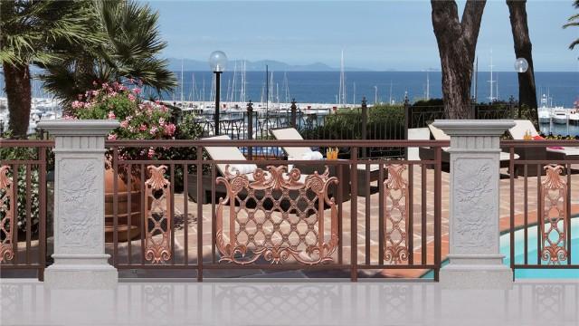 铝艺阳台护栏有哪些优势呢?