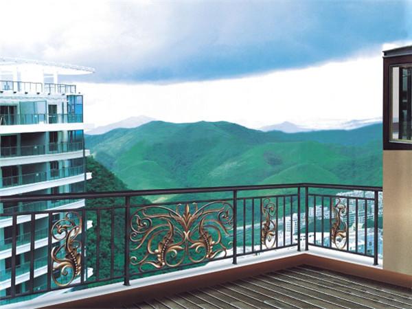 锌钢阳台防护栏杆