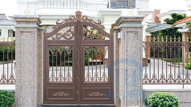 固格澜栅分享铝艺大门和普通大门的区别!