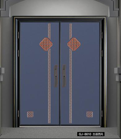 铸铝别墅进户门