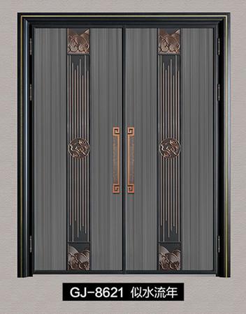 铸铝进户门