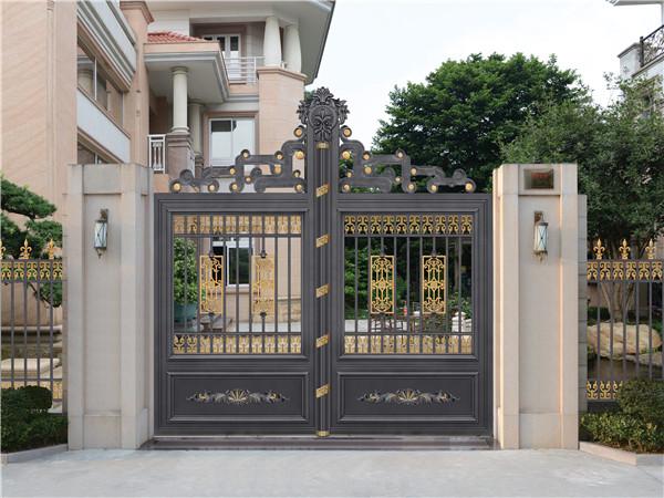 铝艺庭院住宅大门