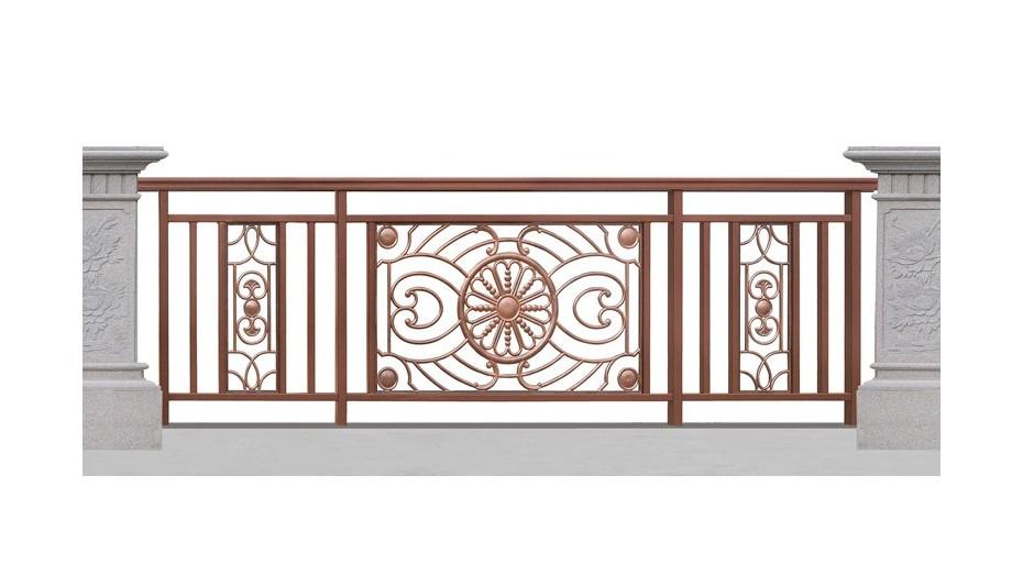 铝艺阳台护栏-003