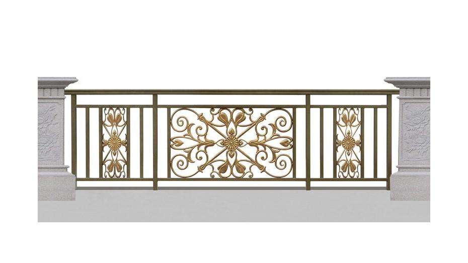 铝艺阳台护栏-004