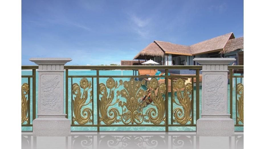 铝艺阳台护栏-007