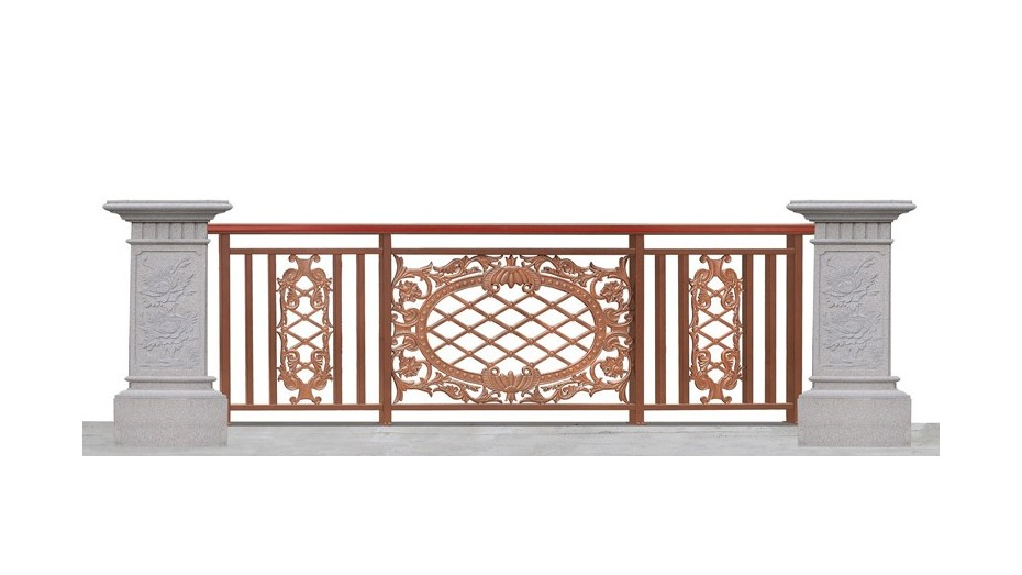 铝艺阳台护栏-009