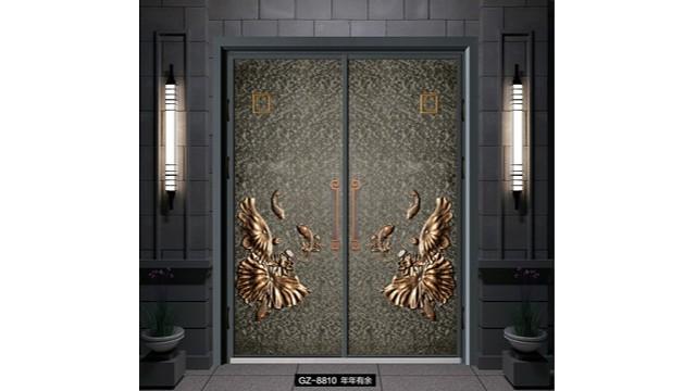怎样选择优质的别墅铸铝进户门呢?