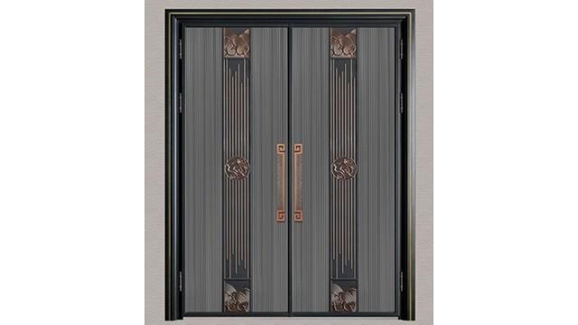 铸铝别墅进户门的五金配件是怎样的?