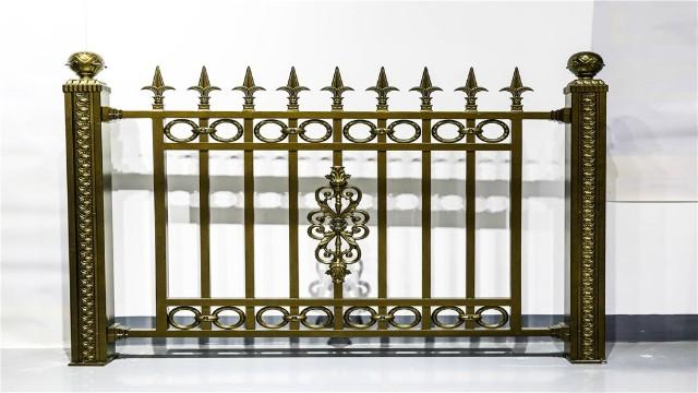 铝艺围墙庭院护栏在安装时应该注意哪些问题?