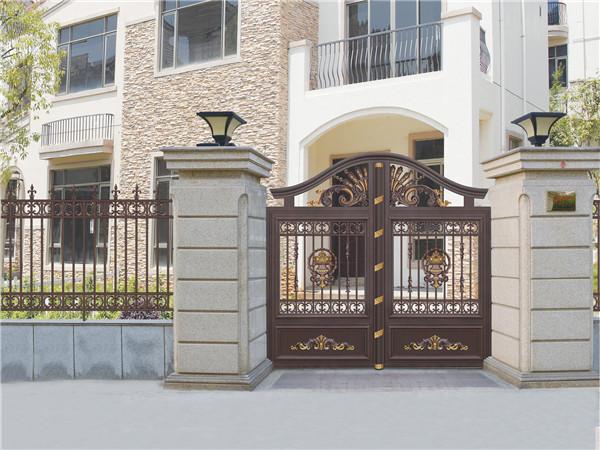 铝艺别墅围墙庭院大门